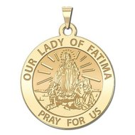 Our Lady of Fatima Religious Medal   EXCLUSIVE