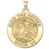 GOD The Father Religious Medal  EXCLUSIVE