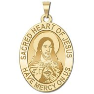 Sacred Heart of Jesus Religious Medal   EXCLUSIVE