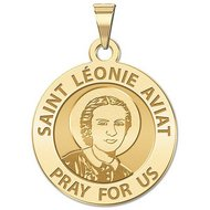 Saint Leonie Aviat Religious Medal  EXCLUSIVE