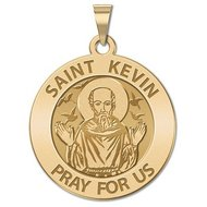 Saint Kevin Religious Medal   EXCLUSIVE