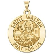 Saint Walter Religious Medal   EXCLUSIVE