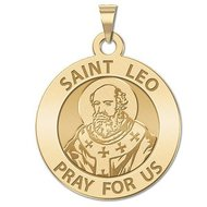 Saint Leo Religious Medal  EXCLUSIVE