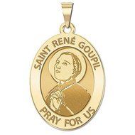 Saint Rene Goupil  OVAL  EXCLUSIVE