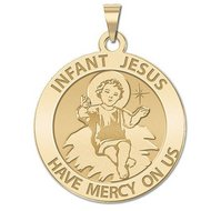 Infant Jesus  Religious Medal  EXCLUSIVE