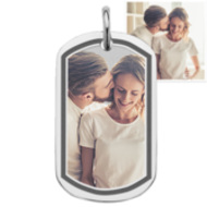 Stainless Steel Photo Dog Tag Photo Pendant