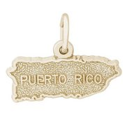 PUERTO RICO MAP ENGRAVABLE