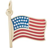 USA FLAG ENGRAVABLE