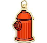 Fire Hydrant Charm
