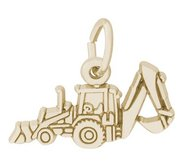 BACK HOE ENGRAVABLE