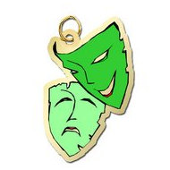 Theatre Masks Charm