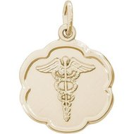 CADUCEUS DISC ENGRAVABLE