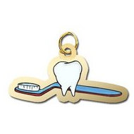 Tooth and Toothbrush Charm