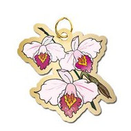 Orchid Charm