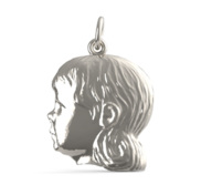 GIRL ENGRAVABLE