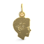 BOY HEAD ENGRAVABLE