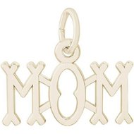 Mom Charm For Necklaces or Bracelets
