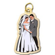 Bride and Groom Charm