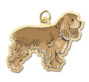 Dog   Cocker Spaniel Charm
