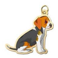 Dog - Beagle Charm
