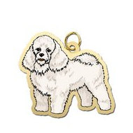 Dog - Poodle Charm