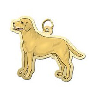Dog -  Yellow Labrador Retriever Charm