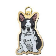 Dog   Boston Terrier Charm