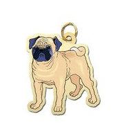 Dog - Pug Charm