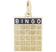 BINGO CARD ENGRAVABLE