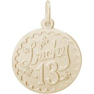 LUCKY 13 ENGRAVABLE
