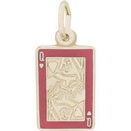 QUEEN OF HEARTS ENGRAVABLE