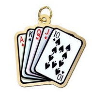Playing Cards Charm