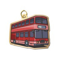 Double Decker Bus Charm