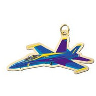 Blue Angel Charm