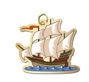 Pirate Ship Charm