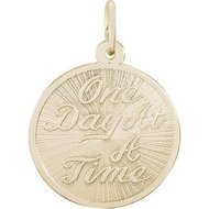 ONE DAY AT A TIME ENGRAVABLE