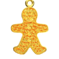 GINGERBREAD MAN ENGRAVABLE
