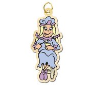Little Miss Muffet Charm