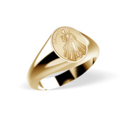 Divine Mercy Jesus Religous Ring  EXCLUSIVE
