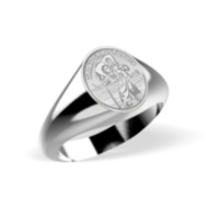 Saint Christopher Ring  EXCLUSIVE
