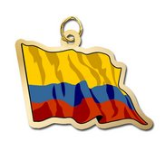 Colombia Flag Charm
