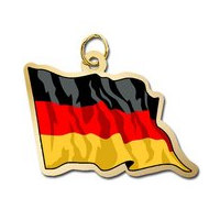 Germany Flag Charm