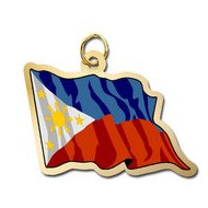 Phillipines Flag Charm