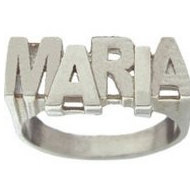 Woman's Name Ring