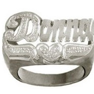 Women s  Name Ring