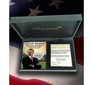 Barack Obama Inauguration   Photo Portrait Plaque  EXCLUSIVE
