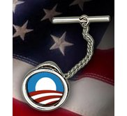 Barack Obama Logo Tie Tack  EXCLUSIVE