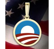 Barack Obama Logo Medal  EXCLUSIVE