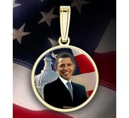 Barack Obama Medal  Color EXCLUSIVE