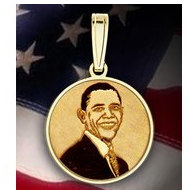 Barack Obama Medal  EXCLUSIVE